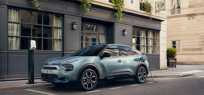 Nieuwe elektrische Citroën ë-C4