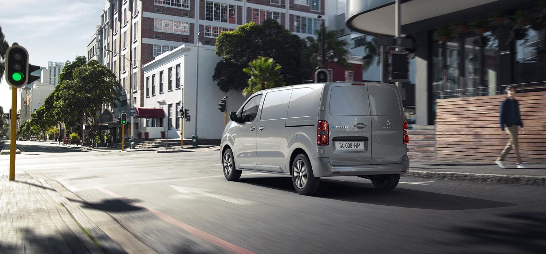 Peugeot e-Expert achterkant