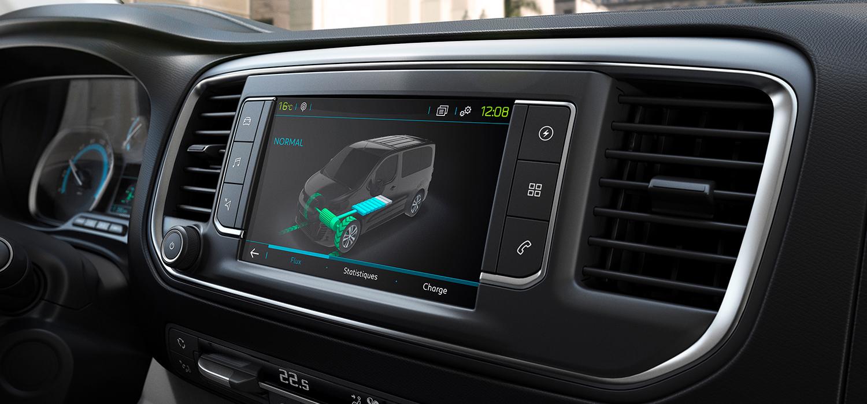 Peugeot e-Expert interieur