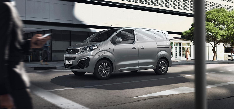 Peugeot e-Expert zijkant
