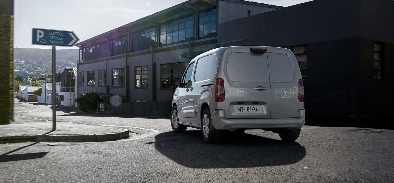 Peugeot e-Partner Achteraanzicht