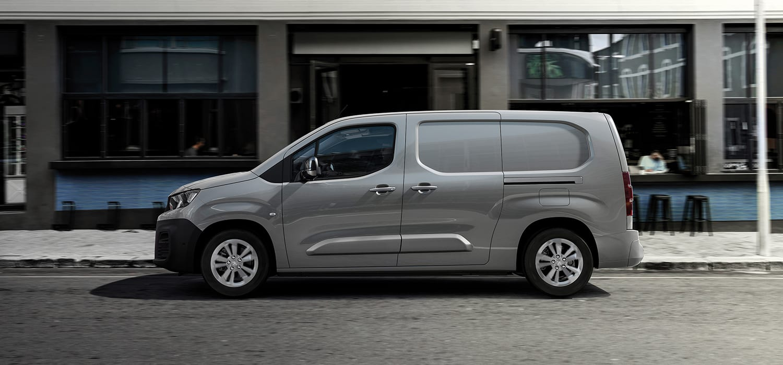 Peugeot e-Partner Zijaanzicht