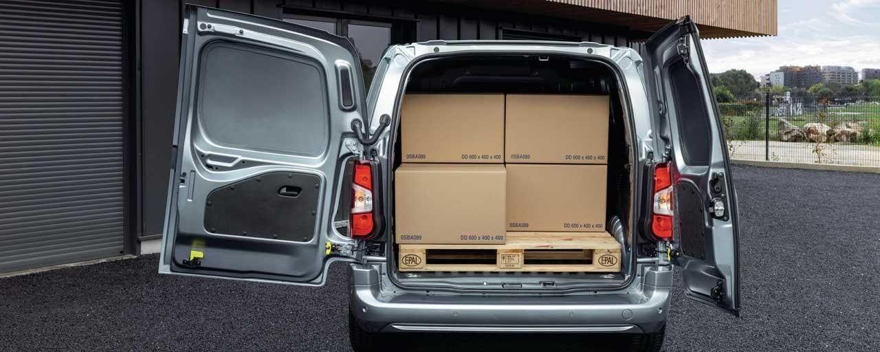 Peugeot e-Partner Laadruimte