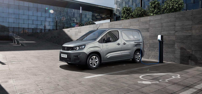 Peugeot e-Partner laadpaal
