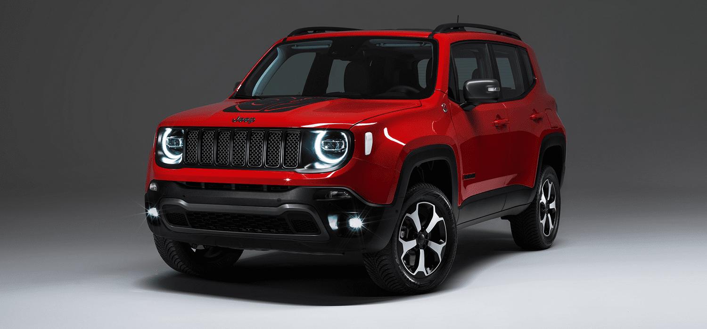 Jeep Renegade 4xe acties