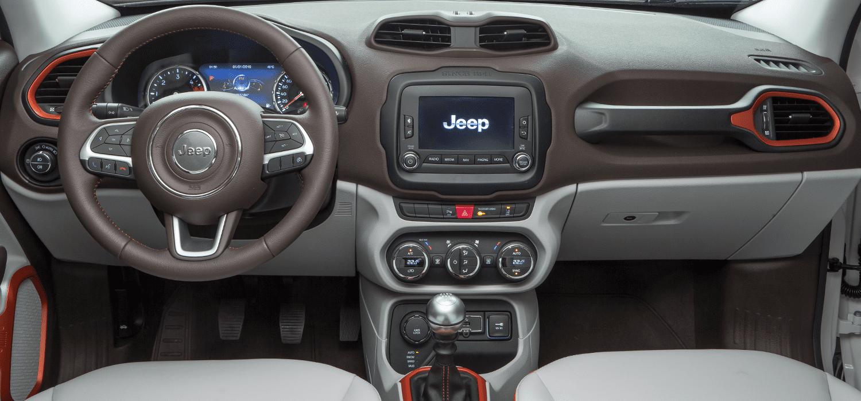 Jeep Renegade interieur