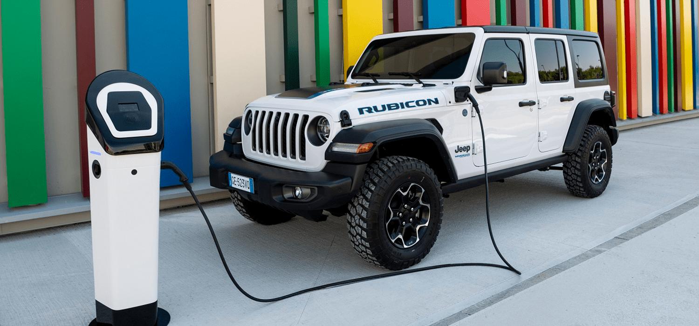 Jeep Wrangler 4xe acties